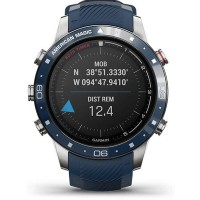 Garmin MARQ Captain: American Magic Edition Blue Rubber Strap Smartwatch 010-02454-01