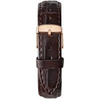 Daniel Wellington Classic 18 York Rose Gold Brown Leather Watch Strap 0710DW