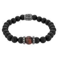 Bourne and Wilde Mens Tigers Eye Bead Bracelet UR06-03