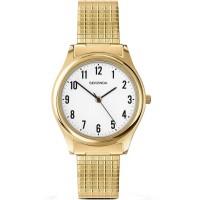 Sekonda Mens Classic Gold Plated Bracelet Watch 3752