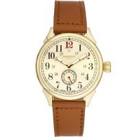 Minster 1949 Mens Boyland Tan Leather Strap Watch MN03GLGL10