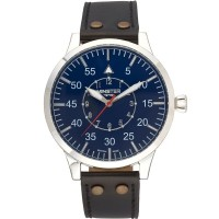 Minster 1949 Mens Bradnor Brown Leather Strap Watch MN02BLSL10