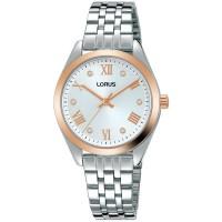 Lorus Ladies Two Tone Bracelet Watch RG256SX9 **