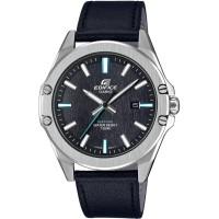 Casio Edifice Classic Black Leather Strap Watch EFR-S107L-1AVUEF