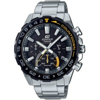 Casio Edifice Premium Solar Chronograph Black Bracelet Watch EFS-S550DB-1AVUEF