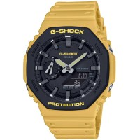 Casio G-Shock Classics Layered Bezel Yellow Watch GA-2110SU-9AER