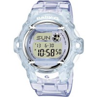 Casio G-Shock Baby-G Digital Blue Plastic Strap Watch BG-169R-6ER