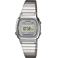 Casio CASIO Collection Retro Digital Silver Bracelet Watch LA670WEA-7EF
