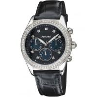 Accurist Ladies Blue Chronograph Watch LS410B