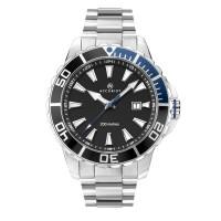 Accurist Mens Signature Black Date Dial Bracelet Watch 7268