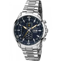 Accurist Mens Steel Chronograph Watch 7005