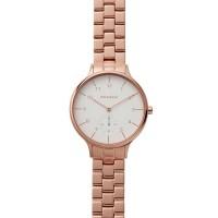 Skagen Ladies Anita Rose Gold Plated Bracelet Watch SKW2417