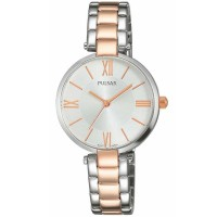 Pulsar Ladies Classic Two Tone Bracelet Watch PH8242X1