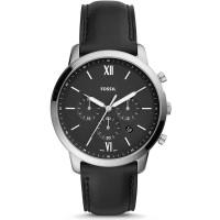 Fossil Neutra Black Leather Strap Watch FS5452
