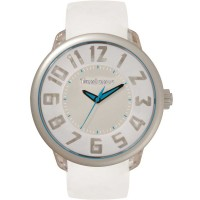 Tendence Mens Fantasy White Strap Watch T0630004