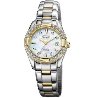 Citizen Ladies Regent Diamond Two Tone Bracelet Watch EW1824-57D