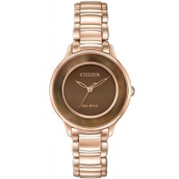 Citizen Ladies CITIZEN L Circle of Time Rose Tone Bracelet Watch EM0382-86X