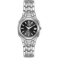 Citizen Ladies Super Titanium Black Dial Bracelet Watch EW1400-53H