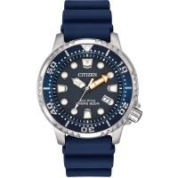 Citizen Mens Promaster Diver Blue Rubber Strap Watch BN0151-09L