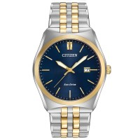 Citizen Mens Corso Two Tone Bracelet Watch BM7334-58L
