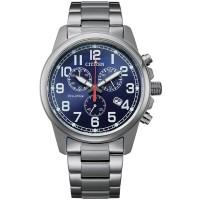 Citizen Eco-Drive Military Blue Bracelet Watch AT0200-56L