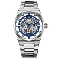 Rotary Mens Greenwich Auotmatic Skeleton Watch GB05210/05