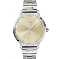 BOSS Ladies Marina Gold Dial Bracelet Watch 1502500