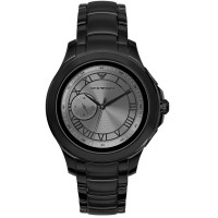 Emporio Armani Connected Touchscreen Black PVD Bracelet Smartwatch ART5011