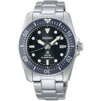 Seiko Mens Prospex Compact Solar Scuba Diver Watch SNE569P1