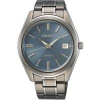Seiko Mens Titanium Watch SUR371P1