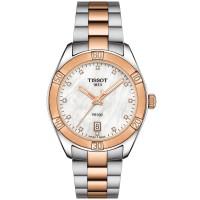 Tissot Ladies T-Classic PR-100 Sports Chic Pearl Watch T101.910.22.116.00