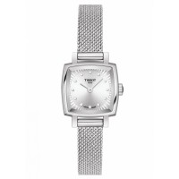 Tissot Ladies T-Lady Lovely Square Diamond Mesh Bracelet Watch T058.109.11.036.00