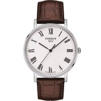 Tissot Mens T-Classic Everytime Medium Brown Watch T109.410.16.033.00