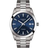 Tissot Mens Gentleman Titanium Watch T127.410.44.041.00