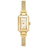 THOMAS SABO Glam And Soul Mini Vintage Gold Plated Mesh Bracelet Watch WA0331-264-207-23X15,5MM