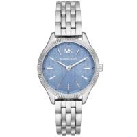 Michael Kors Ladies Lexington Stainless Steel Blue Dial Bracelet Watch MK6639