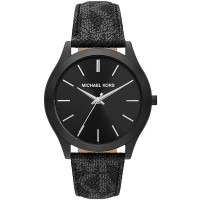 Michael Kors Slim Runway PVC Strap Watch MK8908