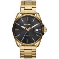 Diesel Mens MS9 Gold Plated Bracelet Watch DZ1865