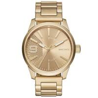 Diesel Mens Rasp Gold Tone Dial Bracelet Watch DZ1761