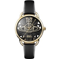 Vivienne Westwood Ladies Leadenhall Strap Watch VV163BKBK