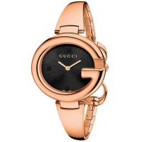 Gucci Ladies Rose Gold Plated Watch YA134305