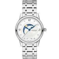 Montblanc Ladies Boheme Day and Night Diamond Set Dial Bracelet Watch 112501