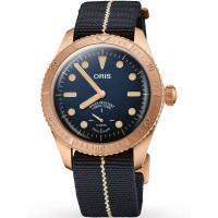 Oris Mens Limited Edition Carl Brashear Calibre 401 Watch 01 401 7764 3185-SET