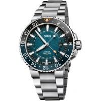 Oris Mens Limited Edition Aquis Whale Shark Watch 01 798 7754 4175-SET