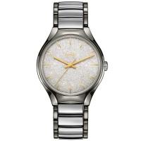 Rado Mens True Blaze Limited Edition Grey Ceramic Bracelet Watch R27057092