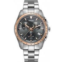 Rado Mens HyperChrome Quartz Chronograph Grey Ceramic and Steel Bracelet Watch R32259163
