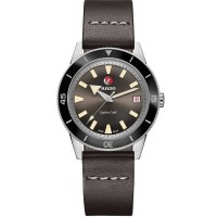 Rado Mens HyperChrome Captain Cook Automatic Limited Edition Leather Strap Watch R32500305