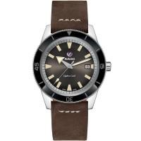 Rado Mens HyperChrome Captain Cook Automatic Brown Leather Strap Watch R32505305