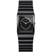 Rado Ladies Ceramica Diamonds Quartz Black Ceramic Bracelet Watch R21702732