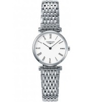 Longines Ladies La Grande Classique White Dial Bracelet Watch L4.209.3.11.7